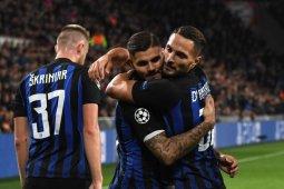Inter boyong tiga poin dari markas PSV