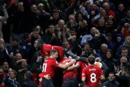 Hasil dan klasemen Liga Inggris, Manchester United menang dramatis