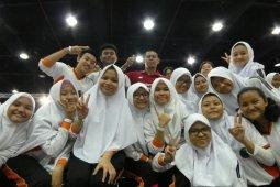 Para pelajar terkesan dengan Asian Para Games