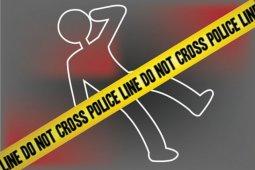 Tabrakan dengan bus, Afdal tewas di tempat