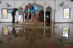 Banjir Aceh Jaya Mulai Surut