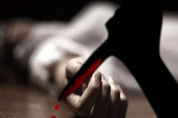 Sepulang dari gereja, Martina Mendrofa temukan suaminya tewas penuh luka