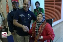Peraih  medali Asian Para Games 2018  tiba di Palembang