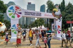 Sebanyak 450 ribu orang kunjungi area festival-pertandingan