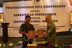 Kemendag gandeng TNI perkuat pengamanan perdagangan di perbatasan