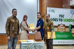 Beragam sekolah disasar FSC-Indonesia kenali produk berkelanjutan