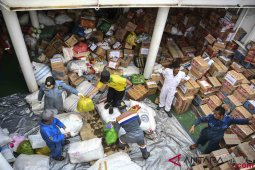 Mensos sebut bantuan sudah jangkau daerah terdampak bencana