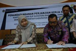 Muarojambi teken kerja sama dengan Kanwil DJP Sumbar-Jambi