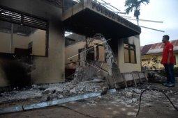 Pembakaran Polsek Bendahara Aceh Tamiang