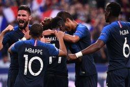 Hasil pertandingan dan klasemen, Perancis benamkan Jerman