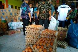 Harga Telur di Manokwari tembus Rp.100 ribu/rak