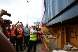 Pelabuhan Kuala Tanjung layani ekspor perdana peti kemas