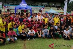 Mencari bibit pemain sepak bola, Kodim 0204/DS gelar turnamen