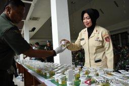Mabes TNI Periksa Urine 616 Prajurit