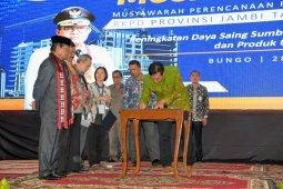 Sekda Muaro Jambi: Tingkatkan sinergi Pemprov dalam tentukan prioritas pembangunan