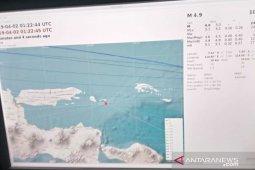 Lima kali gempa susulan guncang Sumenep