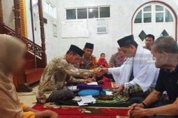Kapolres Barito Timur saksi pernikahan tersangka persetubuhan