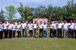 Lomba bakiak meriahkan Forum Silaturahim Forkopimda Muaro Jambi