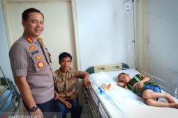 Tertelan uang koin, bocah asal Nias diterbangkan ke Medan