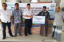 BPJS Kesehatan salurkan empat unit AC untuk masjid di Nagan Raya