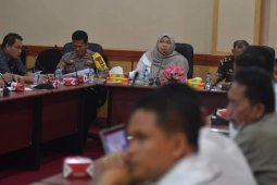 Bupati Muaro Jambi pimpin rakor penanggulangan bencana