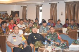 Dandim 0204/DS hadiri rapat rekapitulasi hasil pemungutan suara