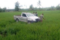 Hilux tabrak sepeda motor di Nagan Raya, ibu dan anak meninggal