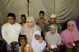 Bupati Masnah bersafari Ramadhan serta santuni lansia dan yatim