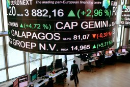 Info Bisnis - Indeks CAC-40 Prancis berakhir terangkat 1,73 persen