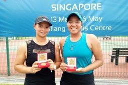 Beatrice gagal di tunggal, tapi juara di ganda Singapore W25