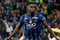 Atalanta cetak sejarah lolos ke Liga Champions