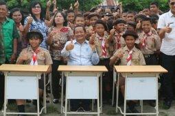 Tujuh SMP di Samosir dapat mobiler CSR Inalum