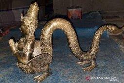 Warga Sumbar temukan patung peninggalan kerajaan Aditiyawarman