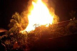 Satu rumah terbakar di Sintang