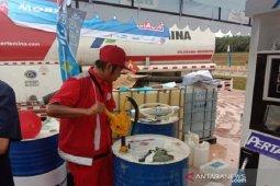 Menimba tetesan minyak di Trans-Sumatera