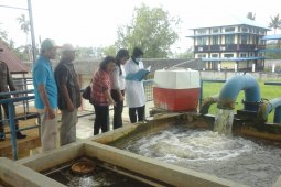 PDAM Gunung Poteng ganti pompa instalasi pengolah air Tirtasari Roban