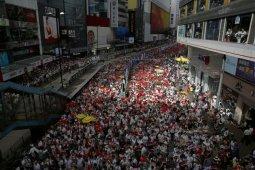 Ratusan ribu orang di Hong Kong protes hukum ekstradisi China