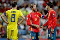 Kapten Real Madrid Sergio Ramos isyaratkan bela Spanyol di Olimpiade Tokyo 2020