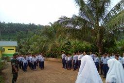 Sosialisasikan narkoba, ini cara yang dilakukan prajurit TNI ke pelajar