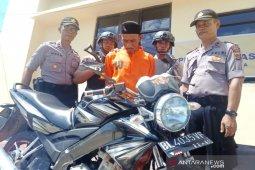 Polisi tangkap residivis pencuri sepeda motor di Nagan Raya