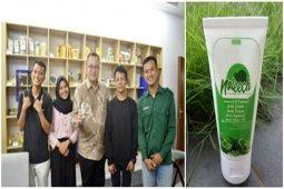 Noleech, inovasi mahasiswa IPB dalam manfaatkan batang tembakau jadi lotion