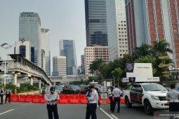 Puncak HUT Jakarta, rekayasa jalur dilakukan di sekirar Bundaran HI