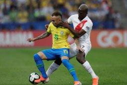 Tampil bagus lawan Peru membuat nama Everton  mulai dikenal