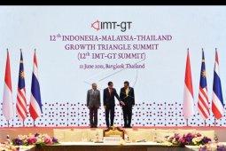 Jokowi sebut kerja sama IMT-GT fokus pada tiga hal