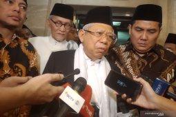 KH Ma'ruf Amin mengajak semua pihak terima apapun putusan MK