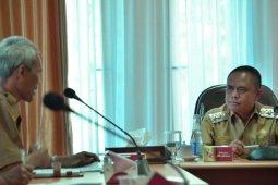 Wabup H.Effendi Ahmad membuka rapat kerja Kepala Desa se Kayong Utara