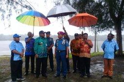 Komandan Lantamal XIV tunjau lokasi Pos di Sorong Selatan
