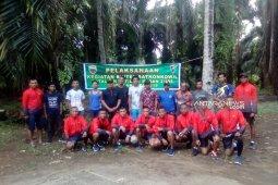 Kodim- Batalyon Armed  gelar olahraga bersama
