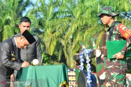 Bupati Palas resmikan TMMD di Desa Hutaraja Lamo