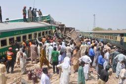 Tabrakan kereta di Pakistan tewaskan 11 orang